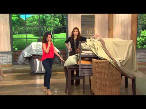 Patio Armor Oversized Outdoor Patio Furniture Cover with Albany Irvin