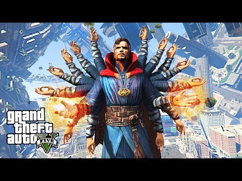 ULTIMATE DOCTOR STRANGE MOD!! (GTA 5 Mods)