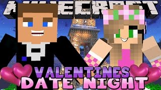 Minecraft - Little Kelly Date Night : MEETING LITTLE DONNYS PARENTS ON VALENTINES DAY!