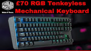 Cooler Master CK530 RGB Tenkeyless Mechanical Keyboard TKL - worth £70?
