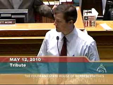 Tribute Before the Colorado State House of Representatives