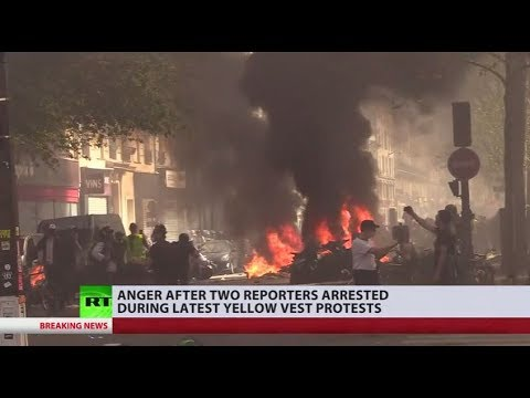 Yellow Vests news coverage: Are recent journalists arrests an attempt at intimidating press?