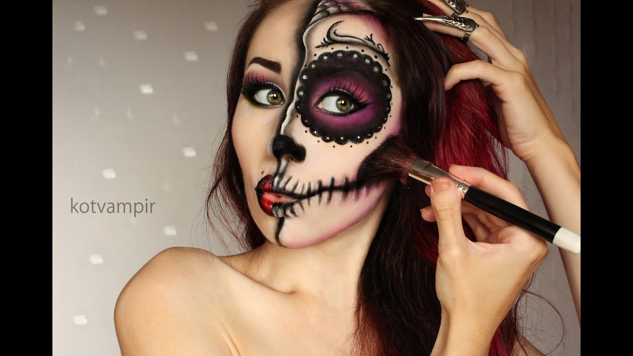 фото сахарные черепа макияж
