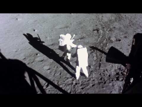 Apollo 11 in 24fps: Flag Deployment