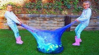 Mezclamos todos los Slime dentro de un wubble pelota gigante Las Ratitas SaneuB thumbnail