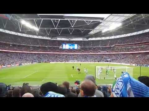 Wigan Athletic FA Cup Final Goal View From the Crowd (HD)