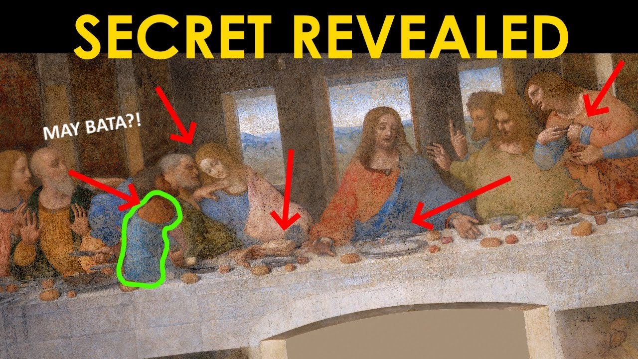 Download Mga SECRET message ni DA VINCI sa kanyang mga painting NATAGPUAN NA (Secret Revealed)