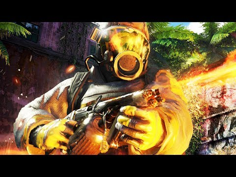 Far Cry 3 Gameplay German PC ULTRA Settings - Gras in Flammen