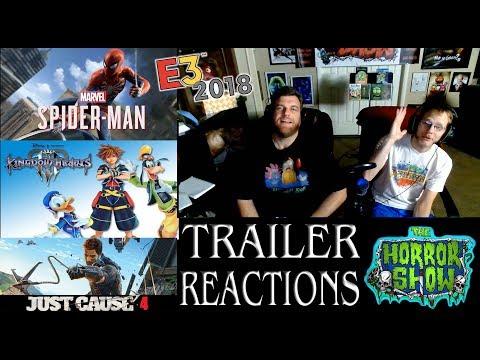 E3 2018 Non-Horror Video Game Trailer Reactions - pt. 2 - The Horror Show