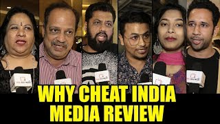 Why Cheat India - Hindi Movie Trailer, Reviews, Songs