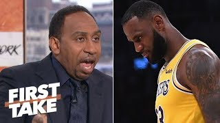 Stephen A.: LeBron didn't choke in overtime against Spurs | First Take thumbnail