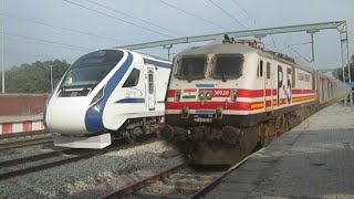 Train 18 vs Gatimaan Express:The Real Battle Of Speed In India!!