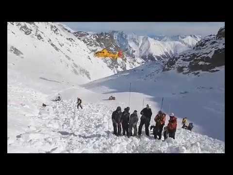 Soccorso Alpino Trentino - intervento in Valanga a Pejo 3000 del 25 Gennaio 2015
