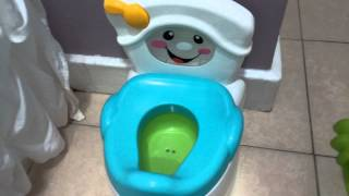 Fisher prize Potty training