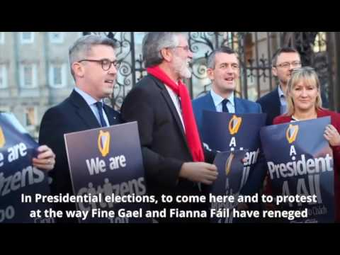 We are Citizens too – Presidential Voting Rights for Irish Citizens