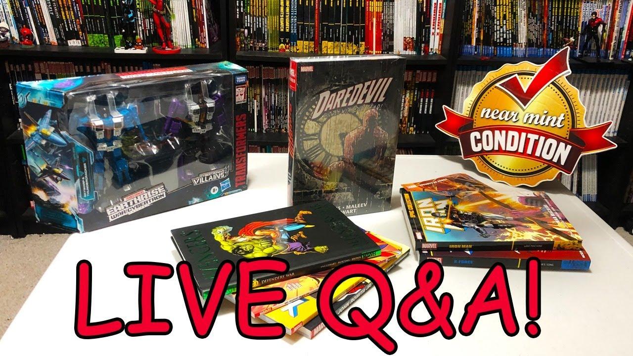 Q&A and Comics Talk!