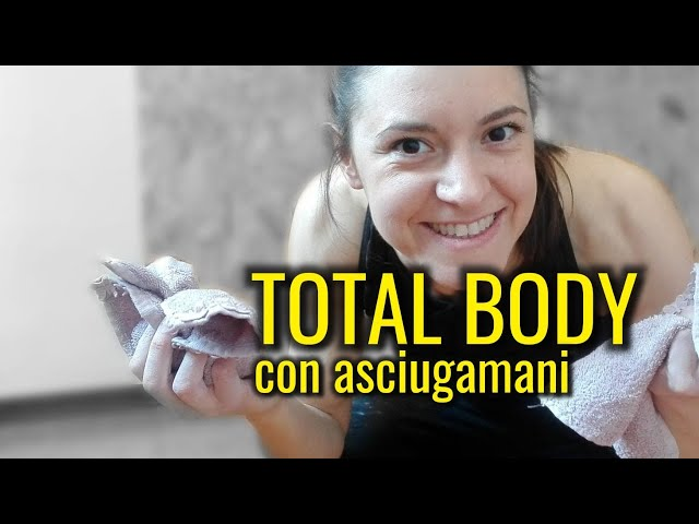 91 -Totalbody con asciugamani (Antonella)