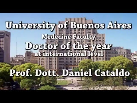 Dr Daniel Cataldo Doctor of the Year