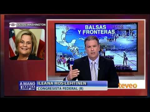 Ileana Ros-Lehtinen habla sobre la ley de ajuste cubano - América TeVé