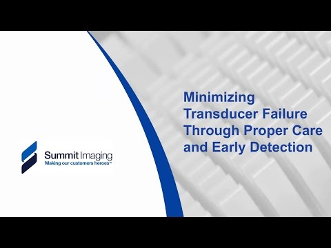 Minimizing Transducer Failure Through Proper Care and Early Detection