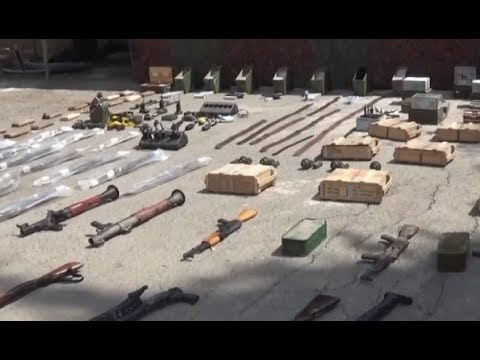 Syrian Army continues to find caves and weapons in liberated areas | September 2019