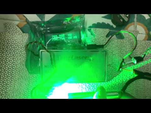 Tiny Green Laser ~800mW Lh0989034503