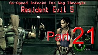 Co-Opted Plays Resident Evil 5: Part 21 - Sunshine & Rainbows