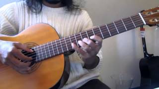 Indian Carnatic Classical on Guitar - How to Swarajathi Rara Venu Slow Overview