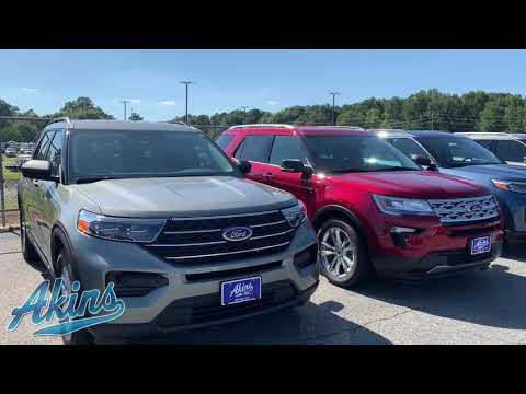 2019 vs 2020 Ford Explorer Akins exterior body style comparison