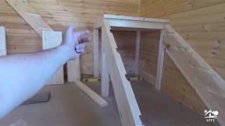 Изготовление лестницы на 2 й этаж. Часть 1.Каркас, Тетева, ступени