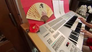 NHK連続テレビ小説「わろてんか」主題歌を、耳コピで弾いてみました。(*...