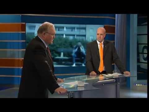 Valet 2006 - Duellen - Göran Persson (S) och Fredrik Reinfeldt (M)