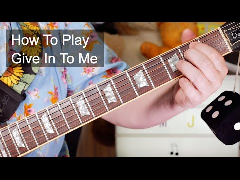 'Give In To Me' Michael Jackson (With Slash) Guitar & Bass Lesson