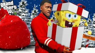 SPONGEBOB is BACK for CHRISTMAS in GTA 5