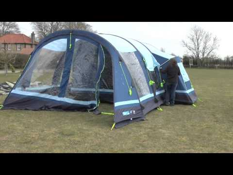 Inflatable Tent Time Test & Inflatable Tent Time Test - YouTube