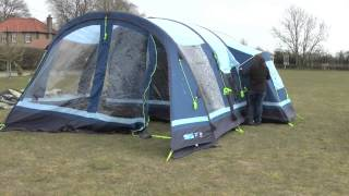 Inflatable Tent Time Test
