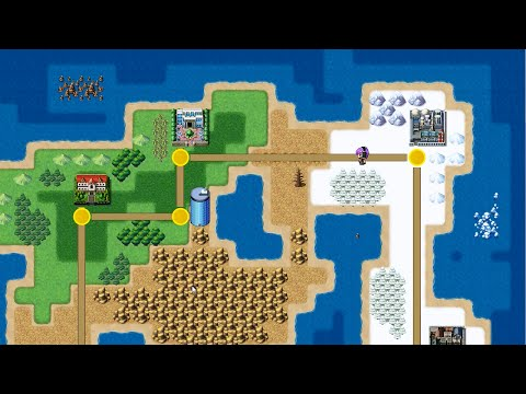 Super Mario-style World Map - RPG Maker MV/Ace Tutorial