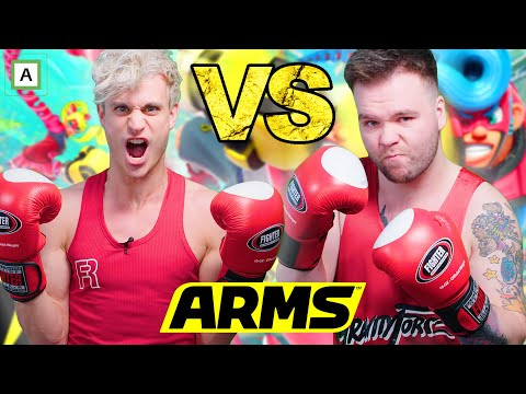 Slåsskamp mot Woldelige Ole - ARMS