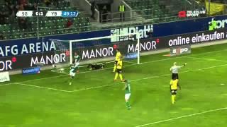 FC St.Gallen vs Young Boys Bern 3-1 / Raiffeisen Super League / 04.05.2013