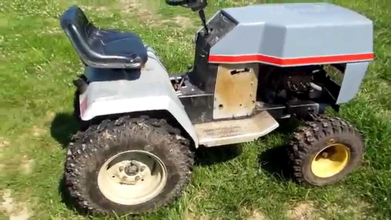 Sears Craftsman Ytv 16 Yard Tractor Youtube