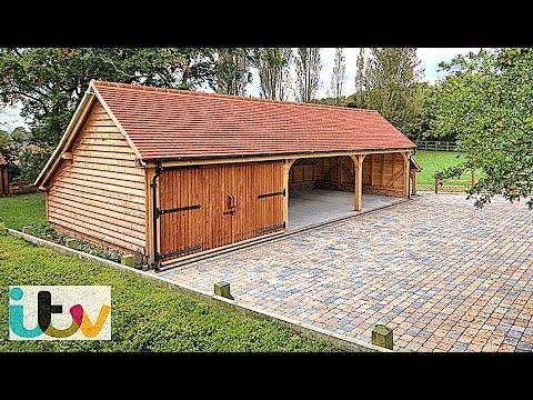 Building A Timber Framed Garage - On TV