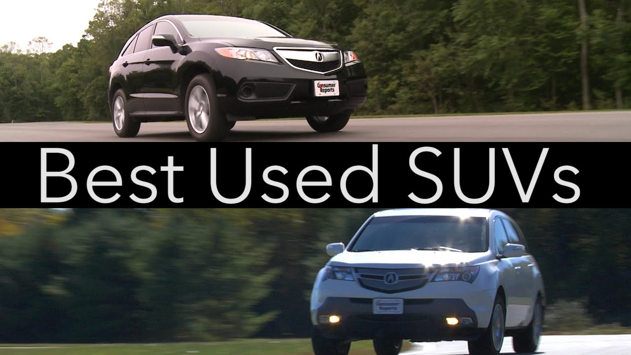 Best Used Suv Under 5000 >> Consumer Reports 2015 Best Used SUVs | Consumer Reports ...