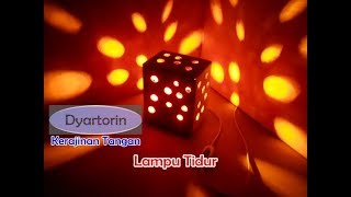 Download Video Kreasi Lampu Tidur dari Kardus Bekas MP3 3GP MP4
