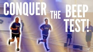 HOW TO IMROVE ON THE BEEP TEST VLOG 11