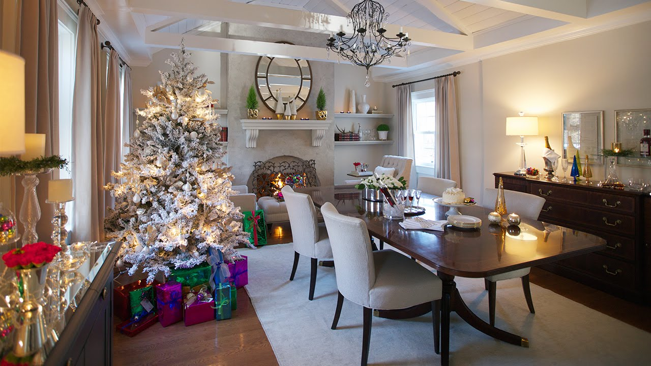 interior design elegant holiday decorating ideas youtube - Elegant Christmas Decorating Ideas