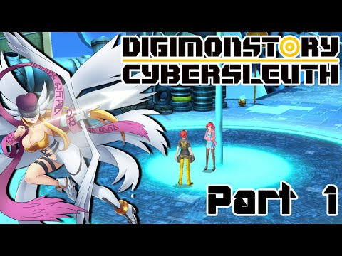 Let's Play Digimon Story Cyber Sleuth - Part 1 - Doing an Internet