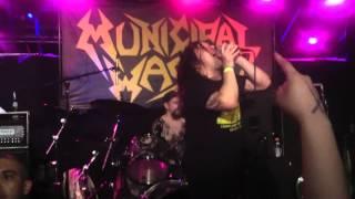 MUNICIPAL WASTE - The Fatal Feast  - 04/09/12 - Las Vegas - Hard Rock Cafe