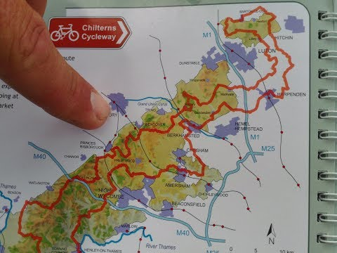 185 miles Chilterns Cycleway in a day