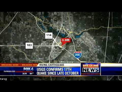 3.5 quake shakes North Texas