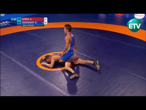 MONGOLIAN NATIONAL FREESTYLE WRESTLING TEAM